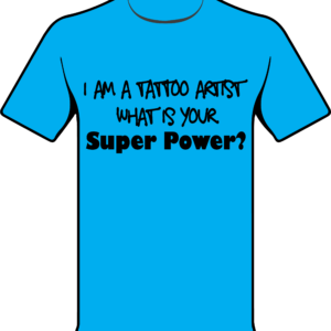 Super Power Carolina Blue Shirt